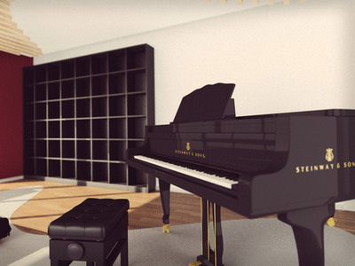 Musician appartments, work in progress.