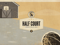 Cutters Brewing Co. Half Court 6-pack carrier