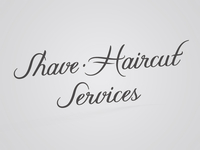 Shave • Haircut Services