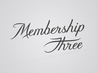 Membership Three
