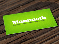 Mammoth Business Card