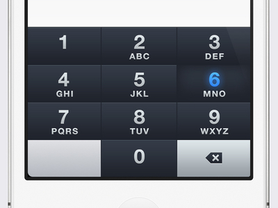 iOS Custom Numeric Keypad