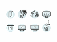 IT quotation icons