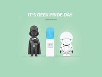 Geek Pride Dribbble