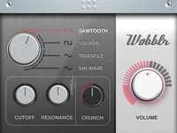 Waveform, Filter, Distortion, and Volume