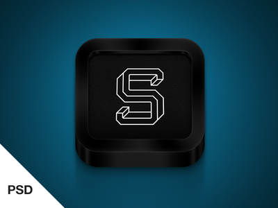 Download Black iPhone icon
