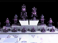 Evil Robotic Chess Set