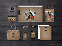 Fashion brand identity - Eco theme