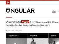 Dribbble Angular