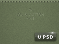 Gaston-Louis Vuitton Wallpaper & PSD