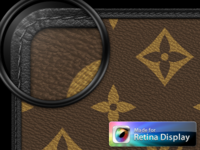 Louis Vuitton Retina Display Wallpaper Collection