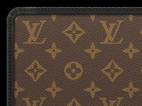 Louis Vuitton Monogram Macassar iOS Wallpaper