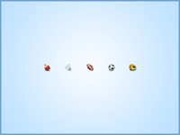 Sports Icons in 16px