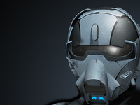 Archetype App Icon - Helmet Illustration