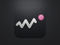 Dribbble incoming activity icon