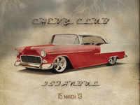 Chevy Club Poster Design