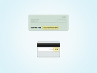 FREEBIE: Check and Credit Card Icons