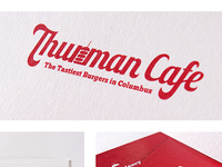 Thurman Cafe logo design