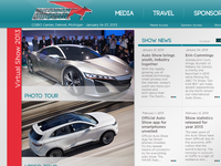 International Auto Show rebrand/website