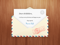 Newsletter envelope PSD