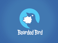 Bearded bird