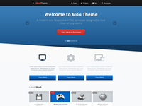Moo Theme Index Page Preview