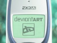 A deviantART app on... Nokia 3330?