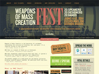 Weapons of Mass Creation Fest site