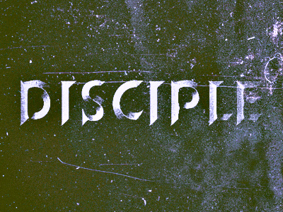 Disciple-beveltext
