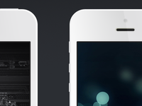 iPhone 5 PSD (Free Template)