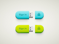 USB Sign In Button