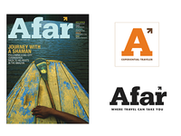 Afar Travel Magazine Identity