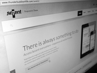 Sevent WordPress + free psd