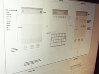 Wireframes iOS