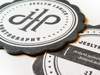 Letterpress Business Cards Detail 2