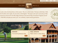 Olde Mill Website Design