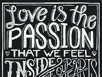Love Is The Passion