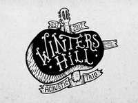 Logo illustration for winters hill