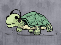 Turtle w/ tattoos.