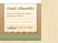 Footer Email Subscription Form