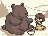 Bear Tea Party