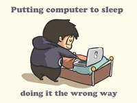 Putting Computer to Sleep
