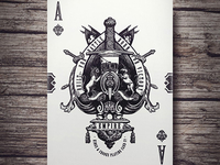 Empire Playing Cards - Ace of Spades (Kickstarter)
