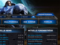 Starcraft II Fansite