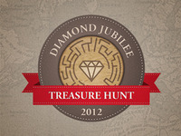 Diamond Jubilee Treasure Hunt Logo