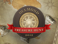 Diamond Treasure Hunt Splash Screen