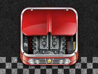 Car Engine App Icon