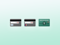 Paddle - Credit Card icons