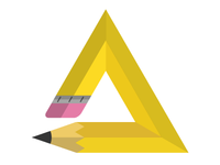 Pencil Triangle