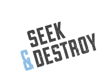 Seek & Destroy Alternative Logo
